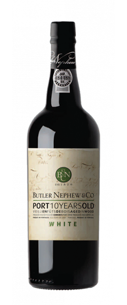 Afbeelding van 10 Years Old White Port Butler Nephew & Co