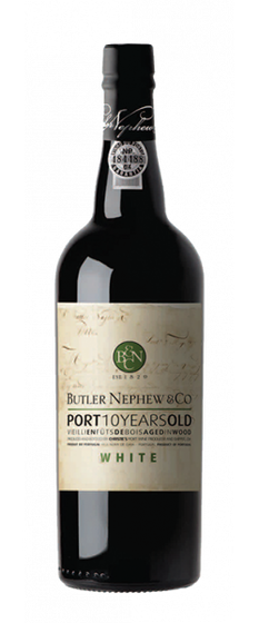 10 Years Old White Port, Butler Nephew & Co