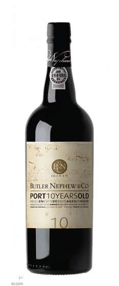 10 Years Old Red Port Tawny, Butler Nephew & Co