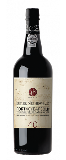 40 Years Old Red Port  Butler Nephew & Co