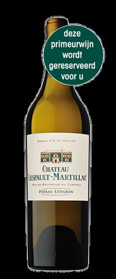 Château Lespault-Martillac 2019 blanc Pessac Léognan