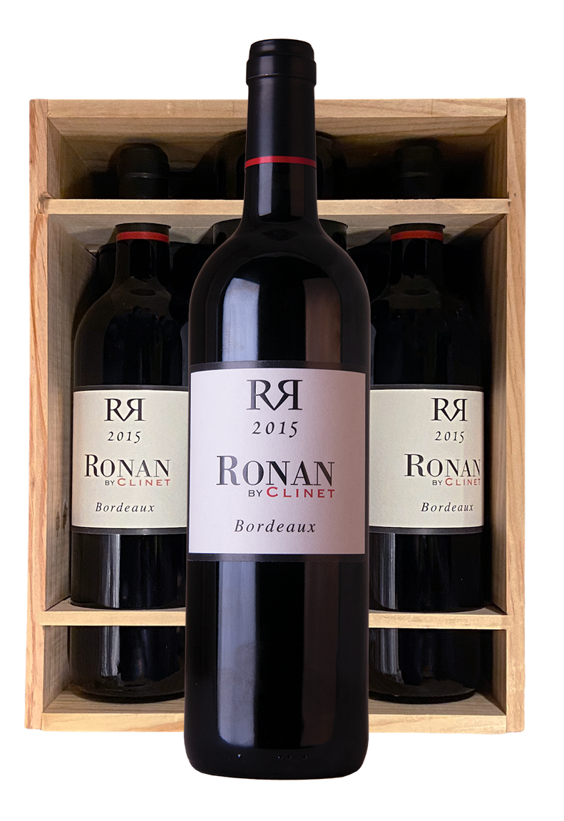 Ronan By Clinet 2015 Bordeaux | Originele kist van 6