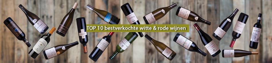 Top 10 bestverkochte witte en rode wijnen